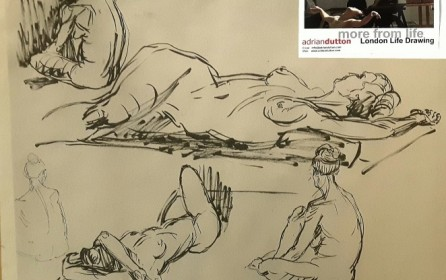 Life drawing. To be continued…