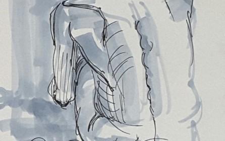 Life drawing, Bethnal Green. .